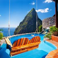 Ladera Resort, hotel in Soufrière