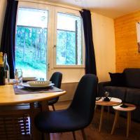 L'Orée des Bois - Studio avec terrasse au calme, hotel in Les Orres