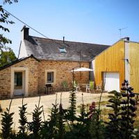 maison entre campagne et mer, hôtel à Plonéour-Lanvern