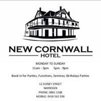 New Cornwall Hotel, hotel in Narrogin