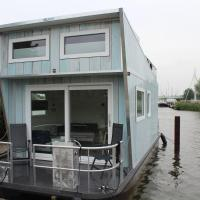 Tiny Houseboat, hotel in Heeg