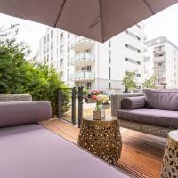 Frankfurt City Center Apartment near Fair with Garden Lounge