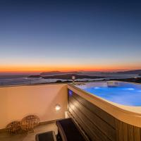 Caldera Stories private suites, hotel en Megalokori