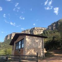 Casa de invitados en plena naturaleza