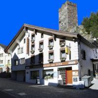 Gasthaus Pension zum Turm, hotel in Hospental