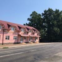 Holiday, hotel Tiszakeresztúron