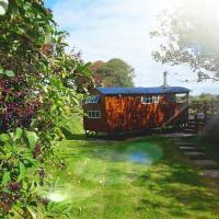 Shepherd's Hut - Little Modbury Farm