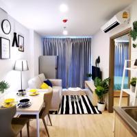 Ideo O2 Bitec BTS Bangna 400m can cook free swimming pool WiFi gym sauna