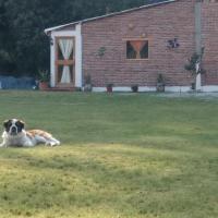 """Cabaña en """"Camping Los Teepes"""", hotel en Villa del Carbón"""