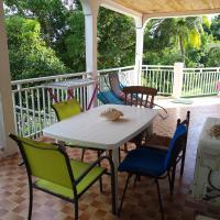 Entre terre et mer à Morne-à-l'eau, hôtel à Morne-à-l'Eau près de: Aéroport de Guadeloupe Pointe-à-Pitre - PTP