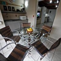 Apartamento 35 Atlântico Jurerê - Muito Perto da Praia, Churrasq, Wi-Fi e Ar Split