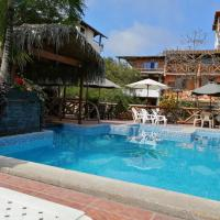 El Galeon, hotel em Montañita