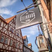 STEINHAUS 1718, hotel in Büdingen