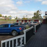 Alahart Motel, hotel em Dawson Creek