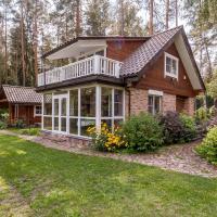 Glukas House - forest & lake panorama, viešbutis mieste Varėna