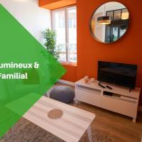 Gahenda - Appartement Volumineux et Familial - Parking, WiFi & Netflix