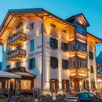 Hotel Villa Alpina ***S, hotel a Cortina d'Ampezzo