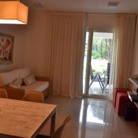 Solanas Green Park Punta del Este Apartamento de 2 ambientes en PB con jardín y vista Laguna