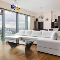Sky Elite Moscow City apartment 54 floor Апартаменты Москва Сити 54 этаж