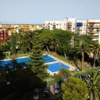 APARTAMENTO HELIOMAR BEACH, hotell nära Málaga flygplats - AGP, Málaga
