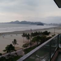 Frente praia Gonzaga em Santos
