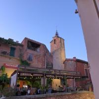 Maison d'hôtes Une hirondelle en Provence、ルシヨンのホテル