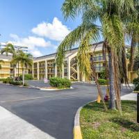 Quality Inn Palm Beach International Airport, hotel near Palm Beach International Airport - PBI, West Palm Beach