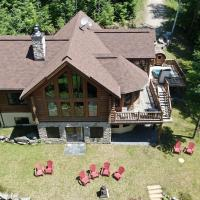 Chalet Eagle Waterfront, Hot Tub + Sauna Barrel by Location4Saisons, hotel em Rivière-Rouge