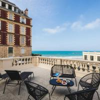 BLUE MOON KEYWEEK Seafront Apt with large Terrace and Parking Biarritz