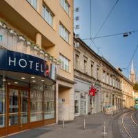 Hotel Jadran, отель в Загребе