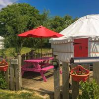 Poppy Yurt