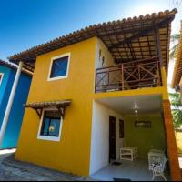 Casa com piscina a 50 metros da praia