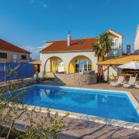 Beautiful home in Oklaj w/ Outdoor swimming pool, Outdoor swimming pool and 2 Bedrooms