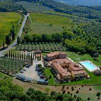 Hotel & Restaurant Casolare Le Terre Rosse, hotel in San Gimignano