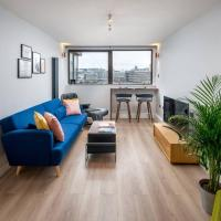 Stunning 2-bedroom flat with riverview in Bankside