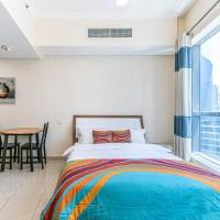 DHH -Come Home To A Cozy Studio in Bay Central Dubai Marina, 5 Mins Walk to The Beach