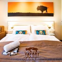 Residence Safari Resort - Bison Lodge, hotel in Borovany