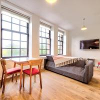 ALTIDO Bright & Airy Apt views of Glasgow Green with parking