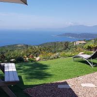 villa corse du sud vue pleine mer