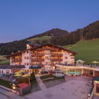 Apparthotel Talhof, Restaurant, Pool und Spa