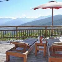 Inviting Villa in Ayguatebia-Talau with Garden