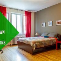 Aretha 5 bedroom Large Apartment Côte-des-Neiges 20 mins Downtown