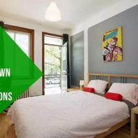 Jimmy 5 Bedroom Apartment Côte-des-Neiges 20 mins Downtown
