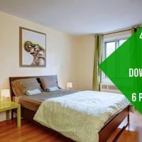 Marvin 4 Bedroom Apartment Côte-des-Neiges 20 mins Downtown