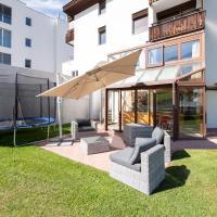 Agrimonia - 5,5-Zi Duplex Wohnung bis 11 Personen mit eigenem Garten