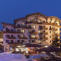 BEST DOWNTOWN LOCATION - ONLY 50 METERS FROM THE PISTE - SKI-TO-DOOR - 1 BEDROOM APT - SPACE FOR 4-Pax - STUNNING VIEWS