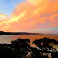 DOLPHIN LOOKOUT COTTAGE - amazing views of the Bay of Fires, hotel em Binalong Bay