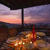 Bodrum Villa with lovely sunset and sea view