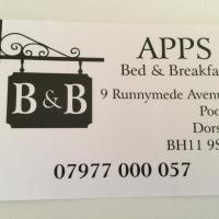 Apps B&B, hotel in Poole