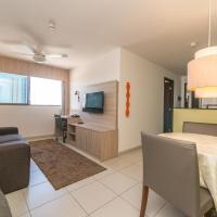NOB2104 Excelente Flat em Boa Viagem com 2 quartos